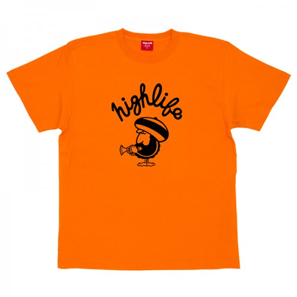 HighLife /  Rasta Man Tee - Orange -