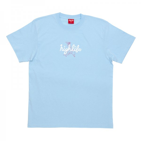 HighLife / Dolphin Tee - LightBlue -
