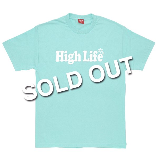 <img class='new_mark_img1' src='//img.shop-pro.jp/img/new/icons47.gif' style='border:none;display:inline;margin:0px;padding:0px;width:auto;' />HighLife / Main Logo Tiffany Color Tee - Tiffany -