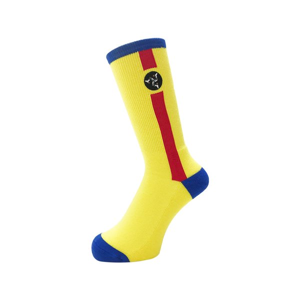 <img class='new_mark_img1' src='//img.shop-pro.jp/img/new/icons5.gif' style='border:none;display:inline;margin:0px;padding:0px;width:auto;' />Whimsy / Pozession Socks - Yellow -