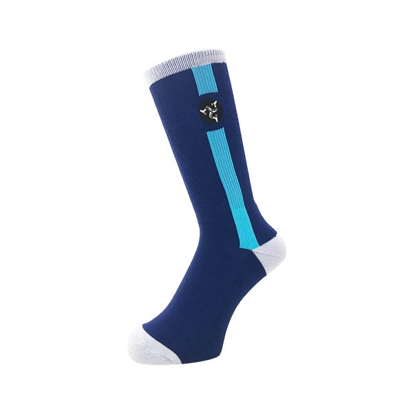 <img class='new_mark_img1' src='//img.shop-pro.jp/img/new/icons5.gif' style='border:none;display:inline;margin:0px;padding:0px;width:auto;' />Whimsy / Pozession Socks - Navy -