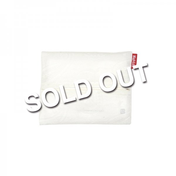 <img class='new_mark_img1' src='//img.shop-pro.jp/img/new/icons5.gif' style='border:none;display:inline;margin:0px;padding:0px;width:auto;' />HighLife / Paisley Jacquard Tissue Cover - White -