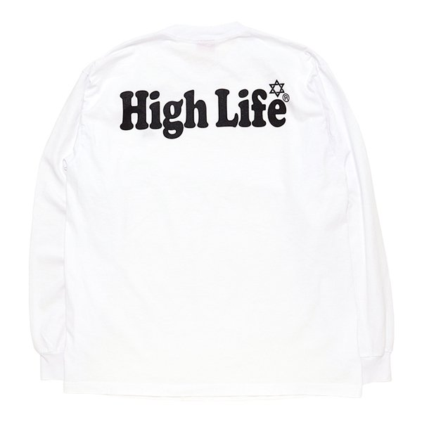 <img class='new_mark_img1' src='//img.shop-pro.jp/img/new/icons5.gif' style='border:none;display:inline;margin:0px;padding:0px;width:auto;' />HighLife / Garment Dye L/S Tee - White -