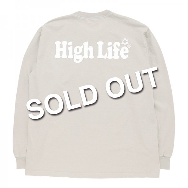 <img class='new_mark_img1' src='//img.shop-pro.jp/img/new/icons5.gif' style='border:none;display:inline;margin:0px;padding:0px;width:auto;' />HighLife / Garment Dye L/S Tee - Beige -