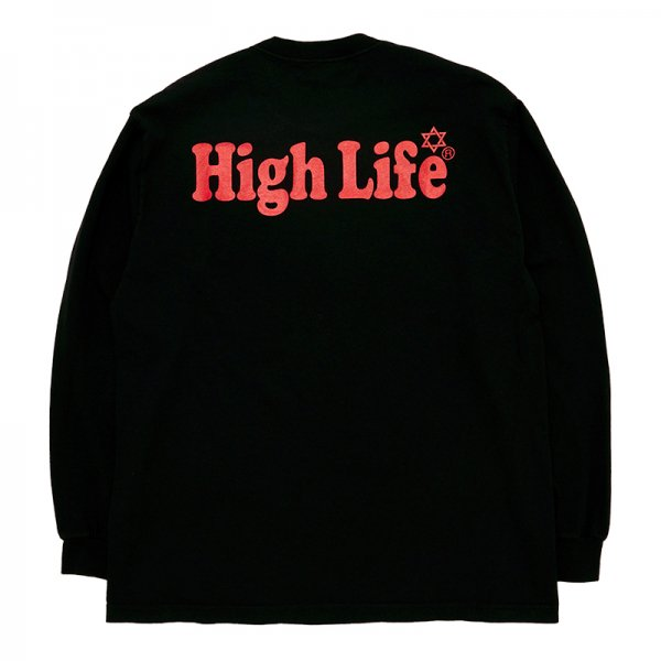 <img class='new_mark_img1' src='//img.shop-pro.jp/img/new/icons5.gif' style='border:none;display:inline;margin:0px;padding:0px;width:auto;' />HighLife / Garment Dye L/S Tee - Black -