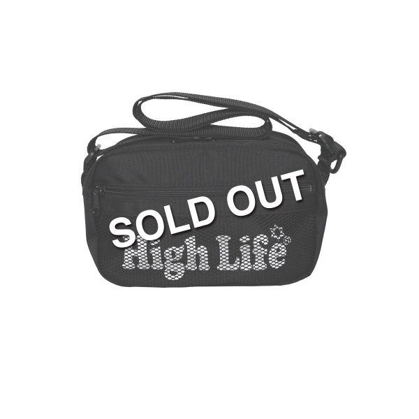 <img class='new_mark_img1' src='https://img.shop-pro.jp/img/new/icons47.gif' style='border:none;display:inline;margin:0px;padding:0px;width:auto;' />HighLife / Shoulder Bag - Black -
