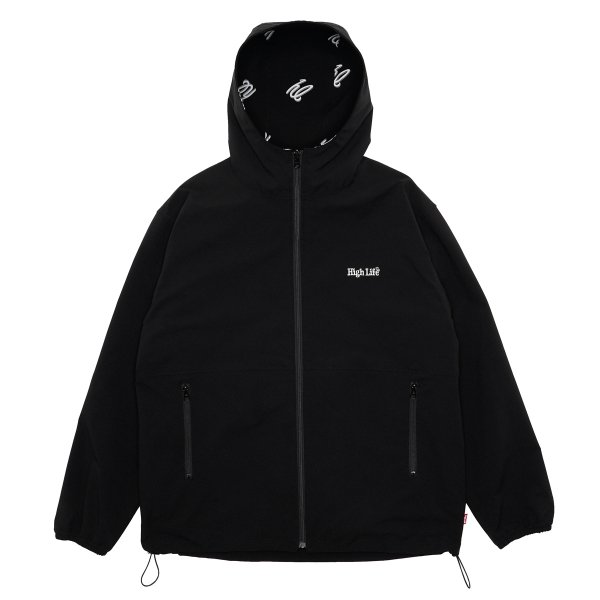 <img class='new_mark_img1' src='https://img.shop-pro.jp/img/new/icons5.gif' style='border:none;display:inline;margin:0px;padding:0px;width:auto;' />HighLife / Reversible Nylon Shell Jackets - Black -