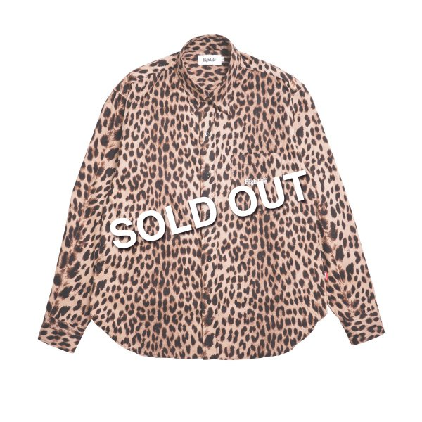 <img class='new_mark_img1' src='https://img.shop-pro.jp/img/new/icons5.gif' style='border:none;display:inline;margin:0px;padding:0px;width:auto;' />HighLife / Leopard L/S Shirts - Beige -