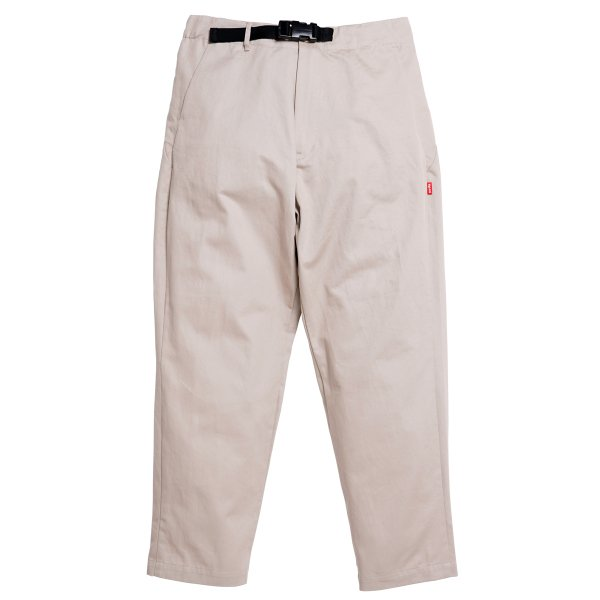 <img class='new_mark_img1' src='https://img.shop-pro.jp/img/new/icons5.gif' style='border:none;display:inline;margin:0px;padding:0px;width:auto;' />HighLife / Cotton Twill Tapered Pants - Bone -