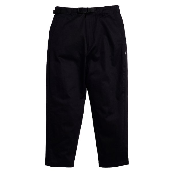 <img class='new_mark_img1' src='https://img.shop-pro.jp/img/new/icons5.gif' style='border:none;display:inline;margin:0px;padding:0px;width:auto;' />HighLife / Cotton Twill Tapered Pants - Black -