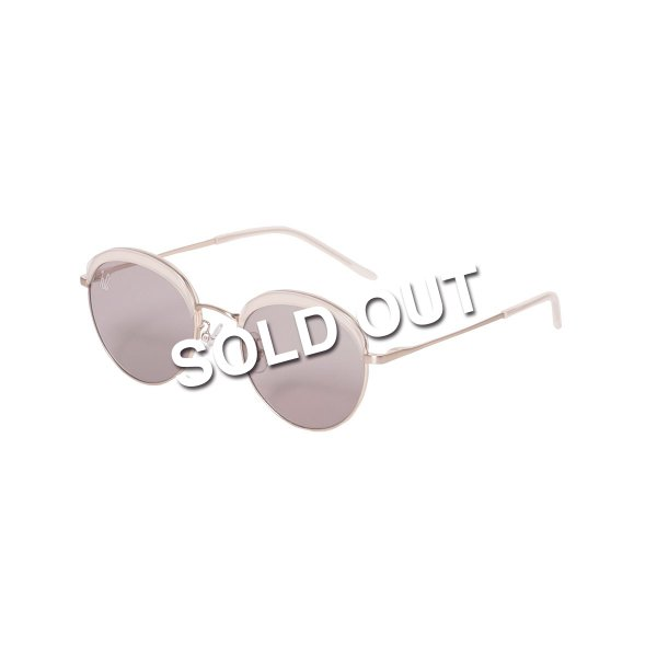 <img class='new_mark_img1' src='https://img.shop-pro.jp/img/new/icons5.gif' style='border:none;display:inline;margin:0px;padding:0px;width:auto;' />HighLife / SHILOH Sunglass - Beige×Gold -