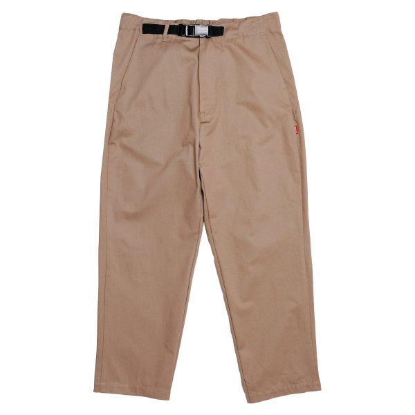 <img class='new_mark_img1' src='https://img.shop-pro.jp/img/new/icons5.gif' style='border:none;display:inline;margin:0px;padding:0px;width:auto;' />HighLife / Cotton Twill Tapered Pants - Camel -
