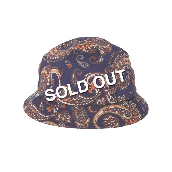<img class='new_mark_img1' src='https://img.shop-pro.jp/img/new/icons5.gif' style='border:none;display:inline;margin:0px;padding:0px;width:auto;' />HighLife / Paisley 6P Hat - Navy -