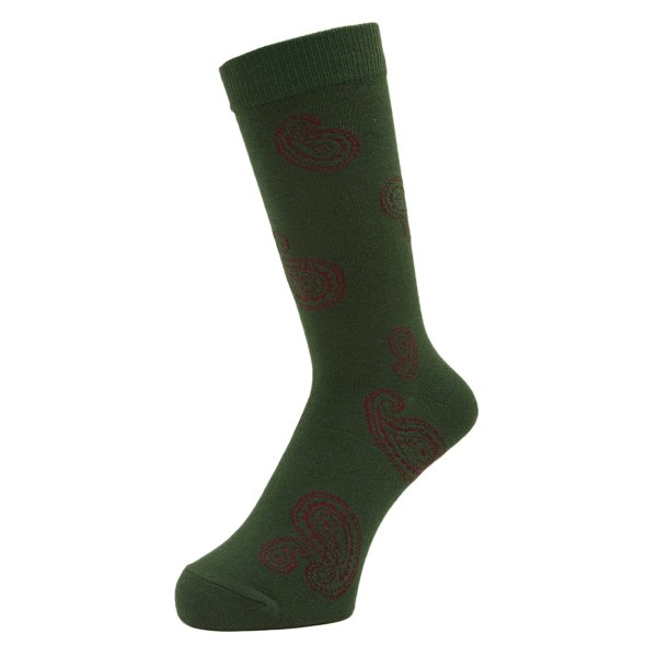 <img class='new_mark_img1' src='https://img.shop-pro.jp/img/new/icons5.gif' style='border:none;display:inline;margin:0px;padding:0px;width:auto;' />Whimsy / Big Paisley Socks - Green -