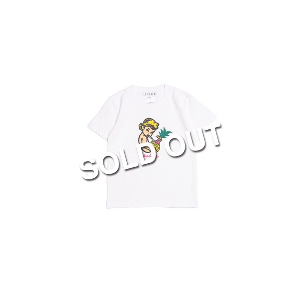 <img class='new_mark_img1' src='https://img.shop-pro.jp/img/new/icons5.gif' style='border:none;display:inline;margin:0px;padding:0px;width:auto;' />Juice / Kids Tee - White -