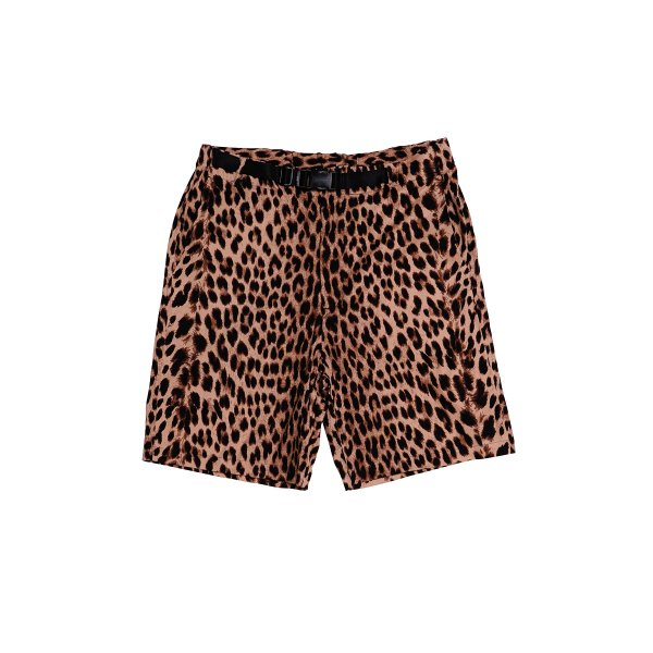 <img class='new_mark_img1' src='https://img.shop-pro.jp/img/new/icons5.gif' style='border:none;display:inline;margin:0px;padding:0px;width:auto;' />HighLife / Leopard Shorts - Beige -