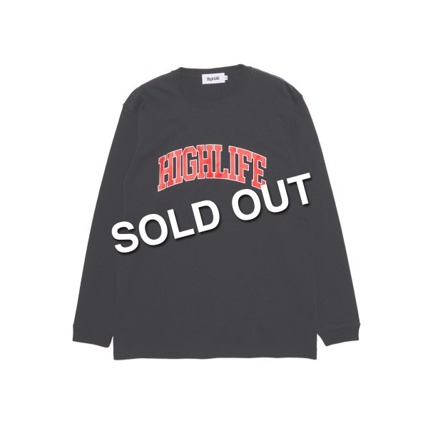 <img class='new_mark_img1' src='https://img.shop-pro.jp/img/new/icons5.gif' style='border:none;display:inline;margin:0px;padding:0px;width:auto;' />HighLife / College L/S Tee - Black -