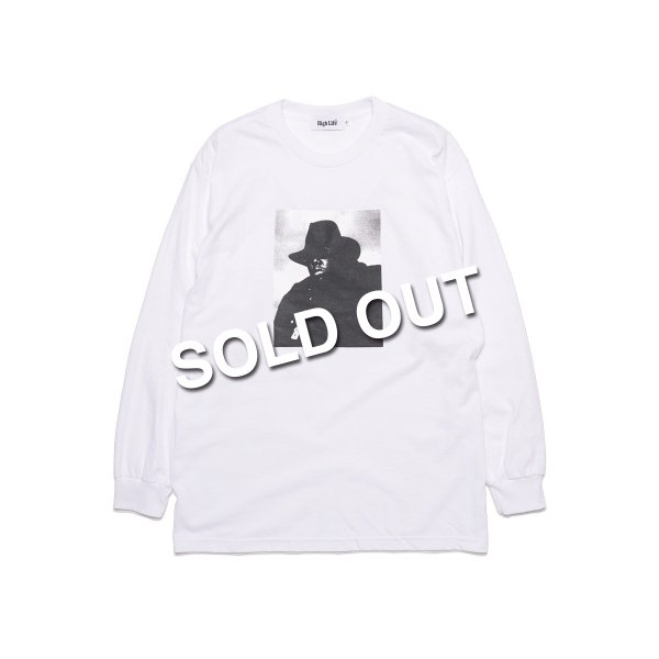 <img class='new_mark_img1' src='https://img.shop-pro.jp/img/new/icons5.gif' style='border:none;display:inline;margin:0px;padding:0px;width:auto;' />HighLife / Big Poppa L/S Tee - White -