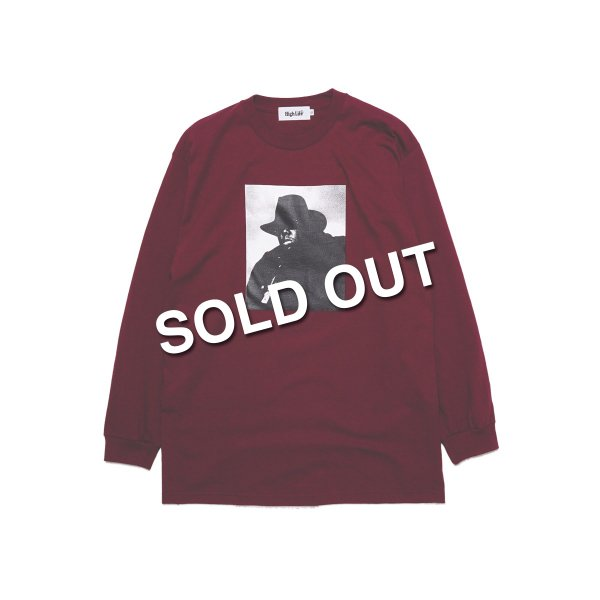 <img class='new_mark_img1' src='https://img.shop-pro.jp/img/new/icons5.gif' style='border:none;display:inline;margin:0px;padding:0px;width:auto;' />HighLife / Big Poppa L/S Tee - Burgundy -