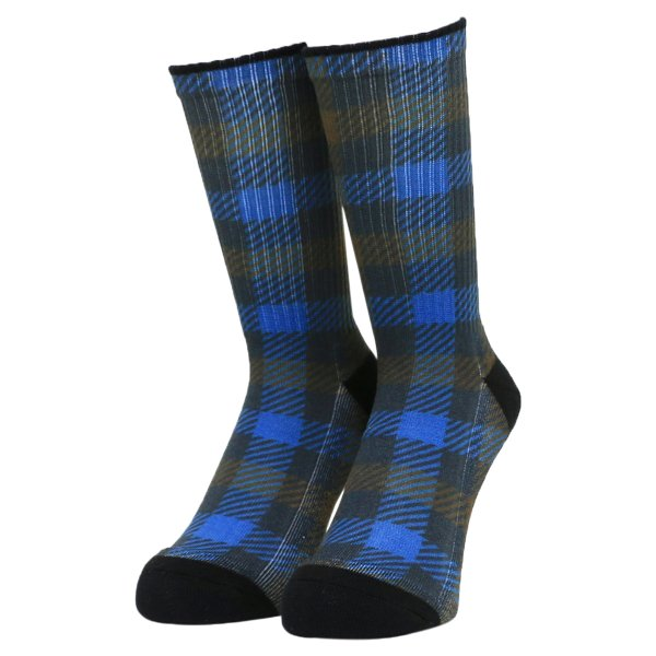 <img class='new_mark_img1' src='https://img.shop-pro.jp/img/new/icons5.gif' style='border:none;display:inline;margin:0px;padding:0px;width:auto;' />Whimsy / Printed Gun Club Socks - Brown -