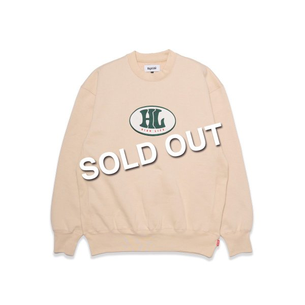 <img class='new_mark_img1' src='https://img.shop-pro.jp/img/new/icons5.gif' style='border:none;display:inline;margin:0px;padding:0px;width:auto;' />HighLife / 90's Crewneck - Beige -