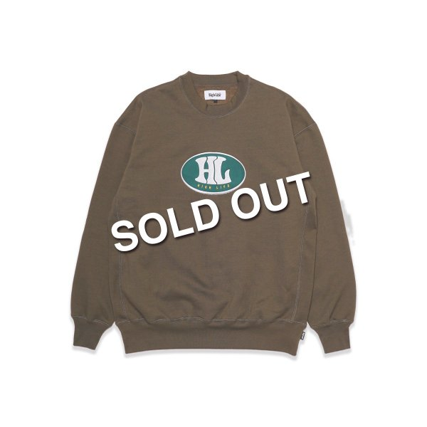 <img class='new_mark_img1' src='https://img.shop-pro.jp/img/new/icons5.gif' style='border:none;display:inline;margin:0px;padding:0px;width:auto;' />HighLife / 90's Crewneck - Olive -