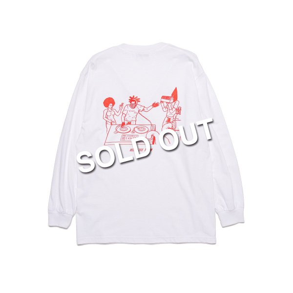 <img class='new_mark_img1' src='https://img.shop-pro.jp/img/new/icons5.gif' style='border:none;display:inline;margin:0px;padding:0px;width:auto;' />HighLife / Team L/S Tee - White -