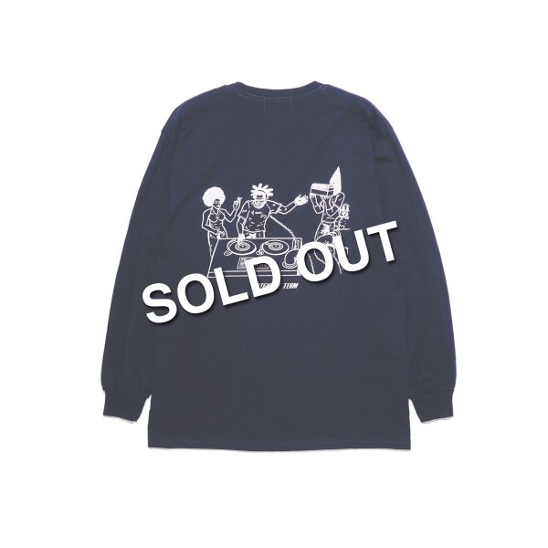 <img class='new_mark_img1' src='https://img.shop-pro.jp/img/new/icons5.gif' style='border:none;display:inline;margin:0px;padding:0px;width:auto;' />HighLife / Team L/S Tee - Navy -