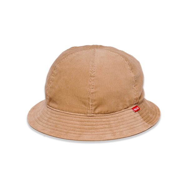 <img class='new_mark_img1' src='https://img.shop-pro.jp/img/new/icons5.gif' style='border:none;display:inline;margin:0px;padding:0px;width:auto;' />HighLife / Corduroy 6P Hat - Beige -