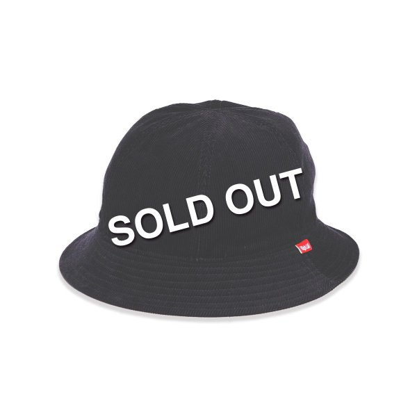 <img class='new_mark_img1' src='https://img.shop-pro.jp/img/new/icons5.gif' style='border:none;display:inline;margin:0px;padding:0px;width:auto;' />HighLife / Corduroy 6P Hat - Black -