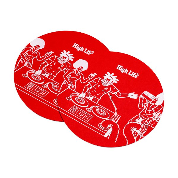<img class='new_mark_img1' src='https://img.shop-pro.jp/img/new/icons5.gif' style='border:none;display:inline;margin:0px;padding:0px;width:auto;' />HighLife / Slip Mat 2Sheets - Red -