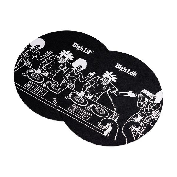 <img class='new_mark_img1' src='https://img.shop-pro.jp/img/new/icons5.gif' style='border:none;display:inline;margin:0px;padding:0px;width:auto;' />HighLife / Slip Mat 2Sheets - Black -