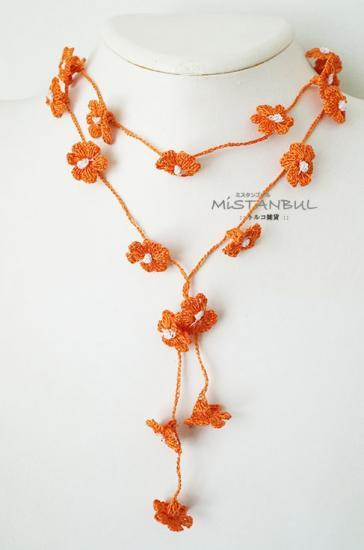 トゥーオヤラリエット プチフラワーズ オレンジ