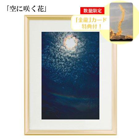 秋元隆良 奇跡の写真 「空に咲く花」【金龍カード特典付!】代引き不可