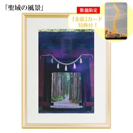 秋元隆良 奇跡の写真 「聖域の風景」【金龍カード特典付!】代引き不可