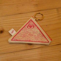 【murakado】三角コインケース ピンク 三角coin case (PK) [DW9-003]【クリックポスト可】
