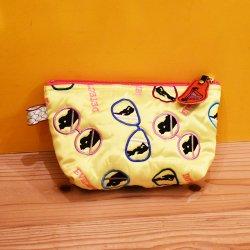 【ULOCO】見られてますよ!ポーチ(黄色) Uloco-miraretemasuyo pouch 【クリックポスト可】