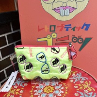 【ULOCO】見られてますよ!ポーチ(黄色) Uloco-miraretemasuyo pouch 【クリックポスト可】<img class='new_mark_img2' src='https://img.shop-pro.jp/img/new/icons25.gif' style='border:none;display:inline;margin:0px;padding:0px;width:auto;' />