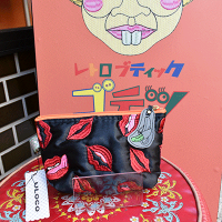 【ULOCO】チュー毒ポーチ(黒) Uloco-chudoku pouch kuro 【クリックポスト可】<img class='new_mark_img2' src='https://img.shop-pro.jp/img/new/icons25.gif' style='border:none;display:inline;margin:0px;padding:0px;width:auto;' />