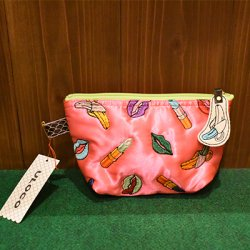 【ULOCO】ヴァナナポーチ(ピンク) Uloco-vanan pouch pink 【クリックポスト可】<img class='new_mark_img2' src='https://img.shop-pro.jp/img/new/icons1.gif' style='border:none;display:inline;margin:0px;padding:0px;width:auto;' />