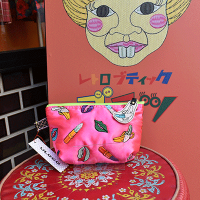 【ULOCO】ヴァナナポーチ(ピンク) Uloco-vanan pouch pink 【クリックポスト可】<img class='new_mark_img2' src='https://img.shop-pro.jp/img/new/icons25.gif' style='border:none;display:inline;margin:0px;padding:0px;width:auto;' />