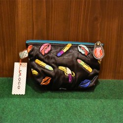 【ULOCO】ヴァナナポーチ(黒) Uloco-vanan pouch kuro 【クリックポスト可】<img class='new_mark_img2' src='https://img.shop-pro.jp/img/new/icons1.gif' style='border:none;display:inline;margin:0px;padding:0px;width:auto;' />