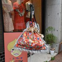 【murakado】ショルダー巾着ファーバッグ POPなメキシコ風 Gassho|shoulder kinchaku fur bag [DW19-357]【ゆうパックもしくはヤマト宅急便にて発送】<img class='new_mark_img2' src='https://img.shop-pro.jp/img/new/icons25.gif' style='border:none;display:inline;margin:0px;padding:0px;width:auto;' />