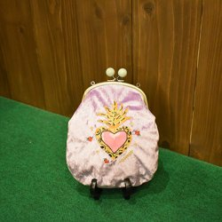 【murakado】鼓動(紫) ベロアロングポーチ! KODOU (PR)|long pouch [DW1-353]【クリックポスト可】