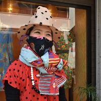 【ULOCO】刺繍テキスタイル ストール ハウスマヌカン  Uloco-Stall(mannequin-w) 【送料無料】