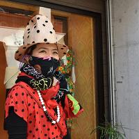 新柄!【ULOCO】刺繍テキスタイル ストール 秘密の花園(黒)  Uloco-Stall(himitsu-kuro-w) 【送料無料】
