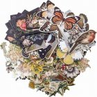 Tim Holtz Idea-Ology Layers Die-Cuts 83/Pkg Botanical
