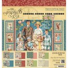 Graphic 45 Paper Pad 8X8 24/Pkg -Penny's Paper Doll