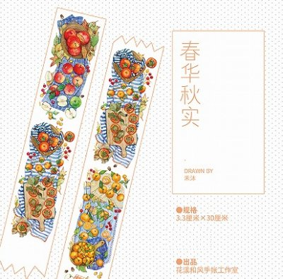 【限定品】海外製 マスキングテープ -たくさん実ったフルーツ