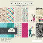 Authentique ペーパーパッド 6x6 24/Pkg -	Party